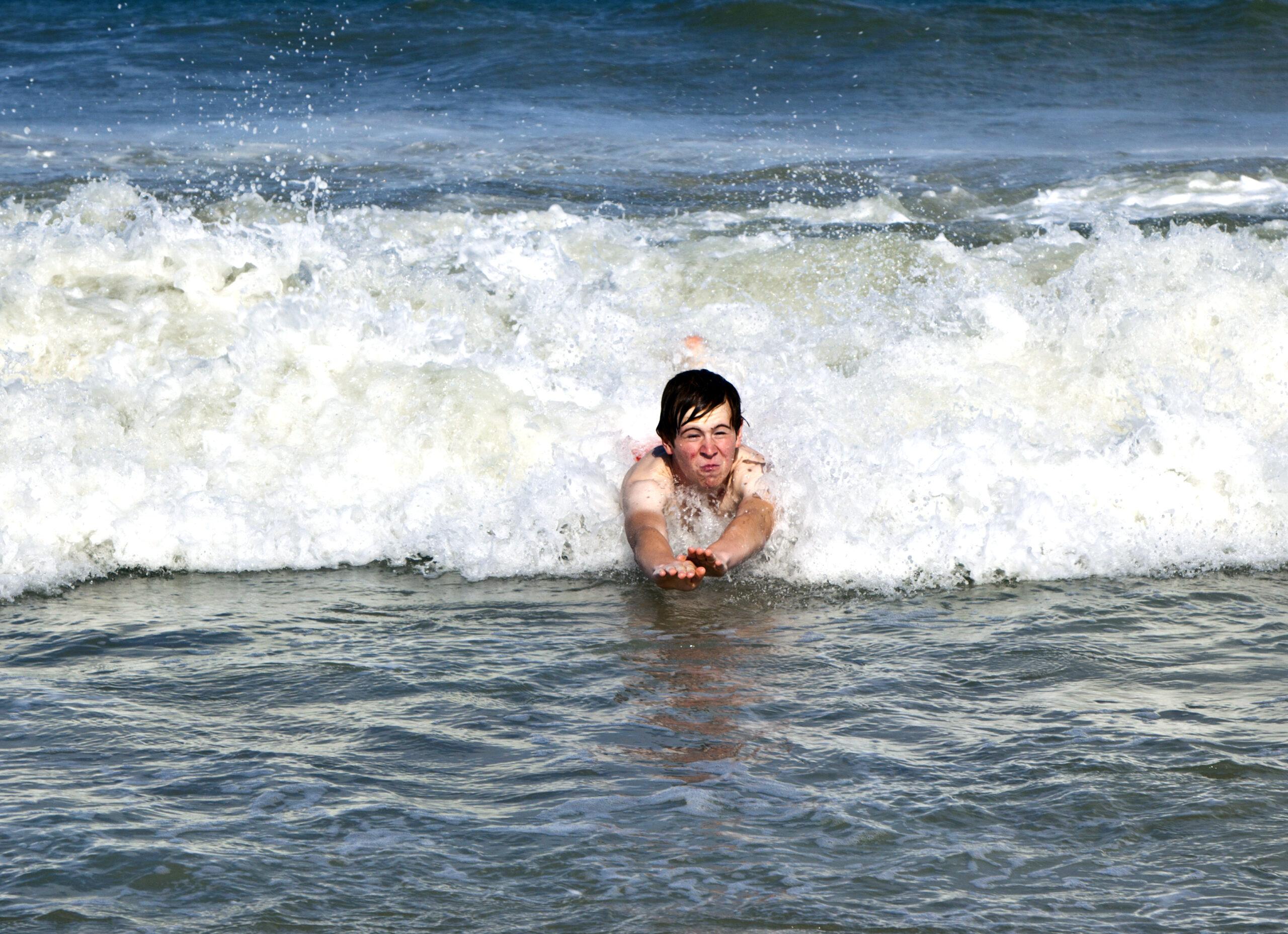 bodysurf tecnica